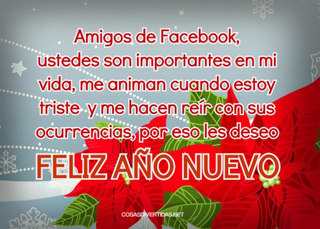 feliz año nuevo amigos facebook