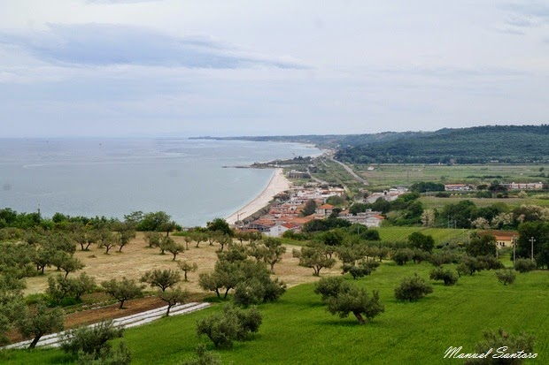 Fossacesia, vista da San Giovanni in Venere