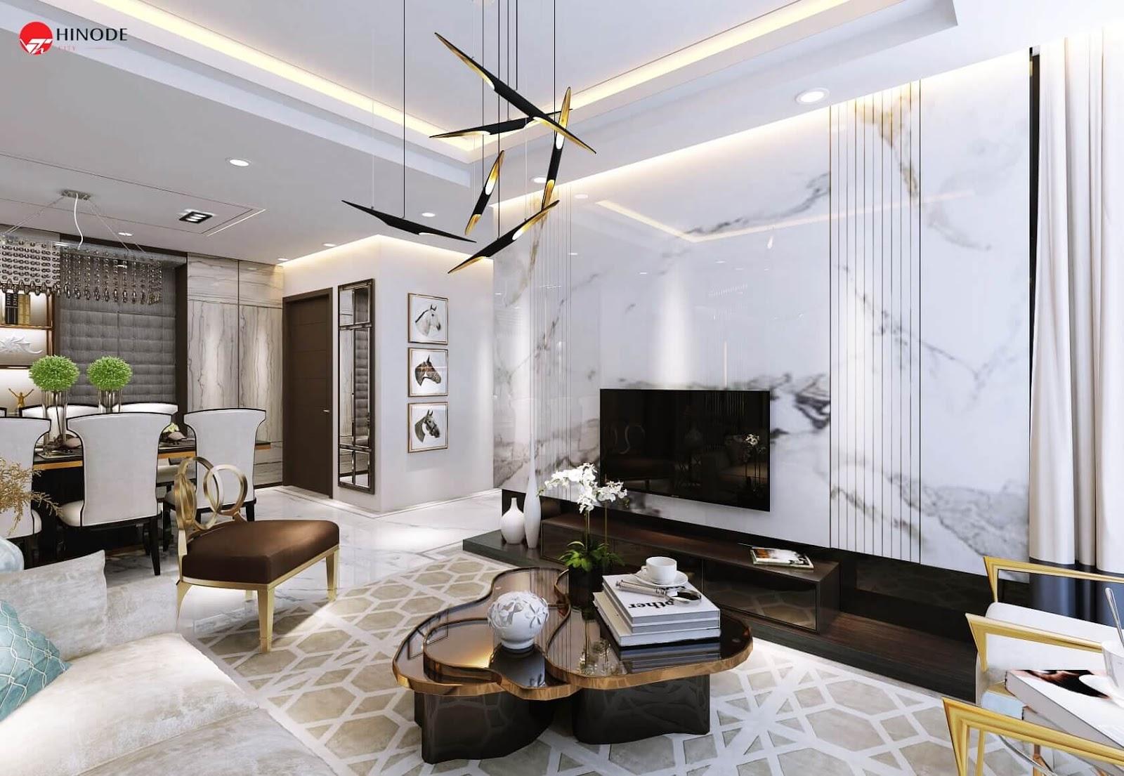 Nội thất bàn giao căn hộ cao cấp chung cư Hinode City