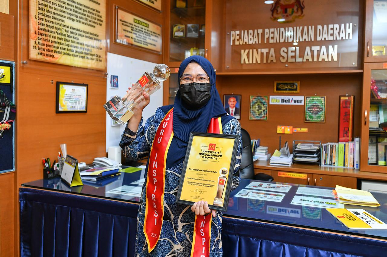 Pemenang Anugerah Guru Inspirasi 2021 - Cikgu Nur Fadhlina