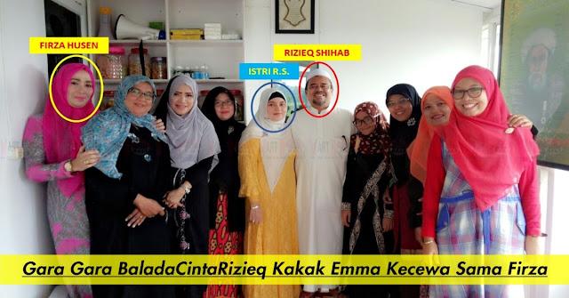 Terseret Kasus BaladaCintaRizieq Kakak Emma Kecewa Terhadap Firza Husein