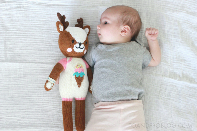 Willow the deer from cuddle+kind