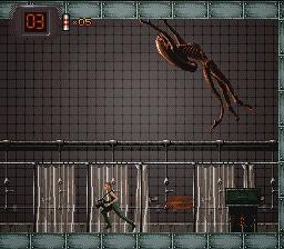 Fase horror em Alien 3 para Snes retrogames