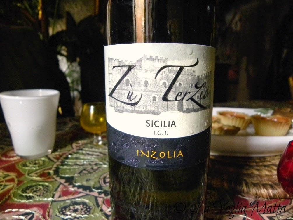 """Chioggia ristorante """" Jackie to night """" Vino siciliano Inzolia"""
