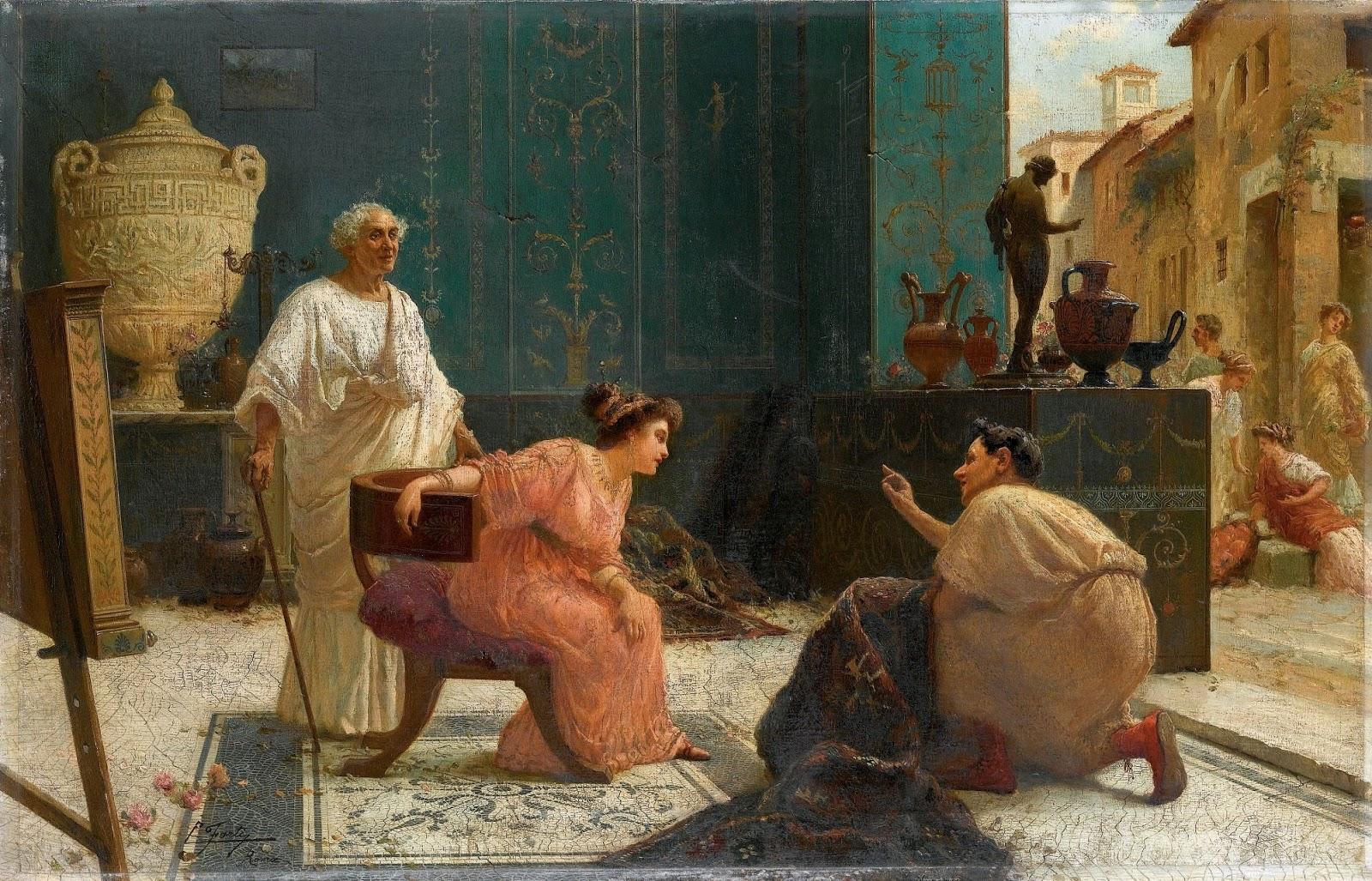 Paintings by Edouardo Ettore Forti (1850-1940)