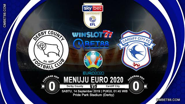 Prediksi Bola Derby County VS Cardiff City 14 September 2019
