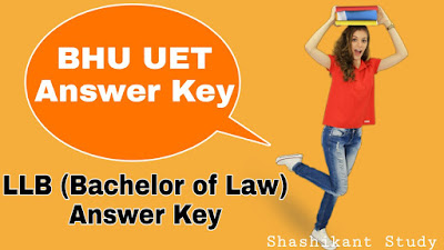 bhu-b.a-llb-answer-key