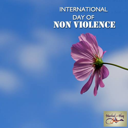 International Day of Non-Violence Wishes for Whatsapp