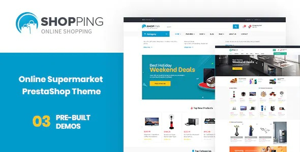 Best Supermarket PrestaShop Electronics Theme