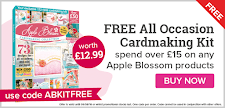 Free cardmaking magazine kit when you spend £15 on Apple products