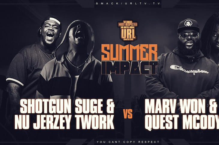 URL Presents: Nu Jerzey Twork And Shotgun vs Marv Won And Quest Mcody