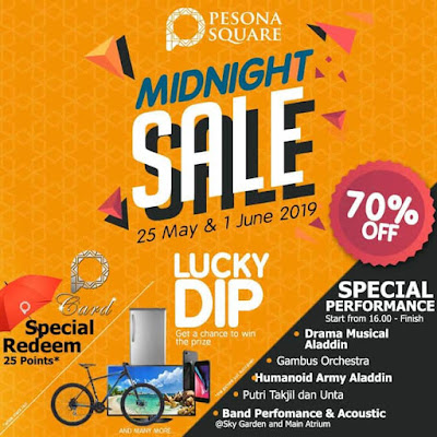 midnight sale di pesona square