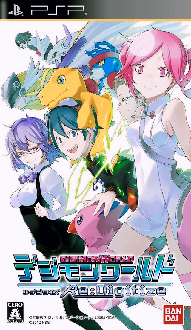 Digimon World Re:Digitize (English Patched) (PSP) Download High Compress
