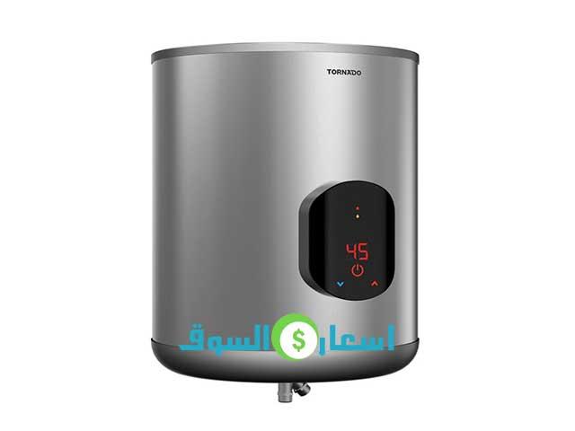سعر سخان كهرباء تورنيدو سعة 45 لتر موديل EWH-S45 CSE-S