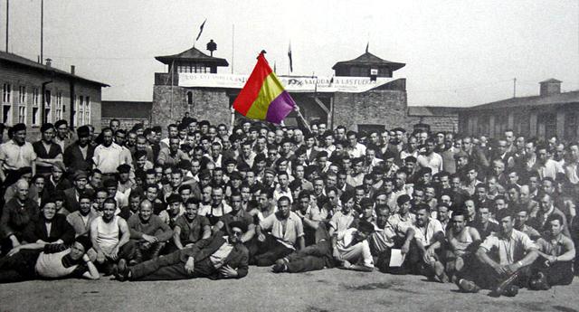 74 aniversario de la liberación del campo de concentración nazi de Mauthausen