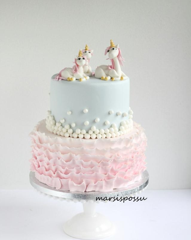 Unicorn kakku
