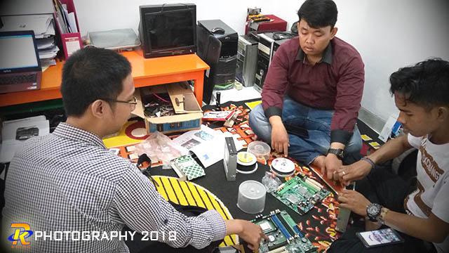 Kursus Teknisi Komputer seru di Lampung