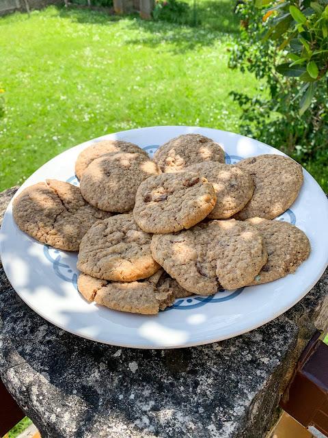 Cookies flocons d'avoine & raisins