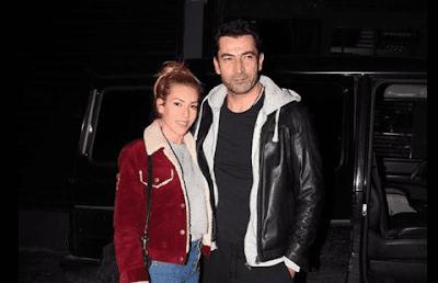 النجمة التركية سينام كوبال تحتفل بعيد ميلاد زوجها