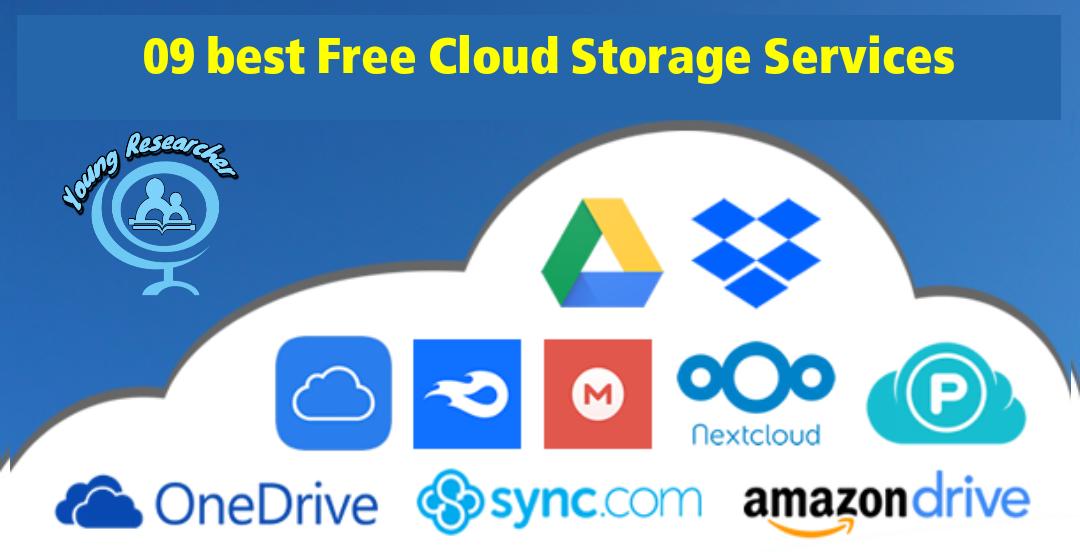 09 best Free Cloud Storage Services