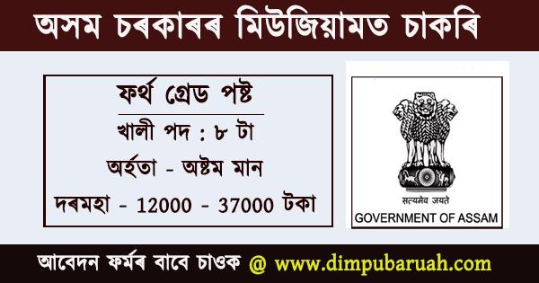 Assam Museum Jobs 2020