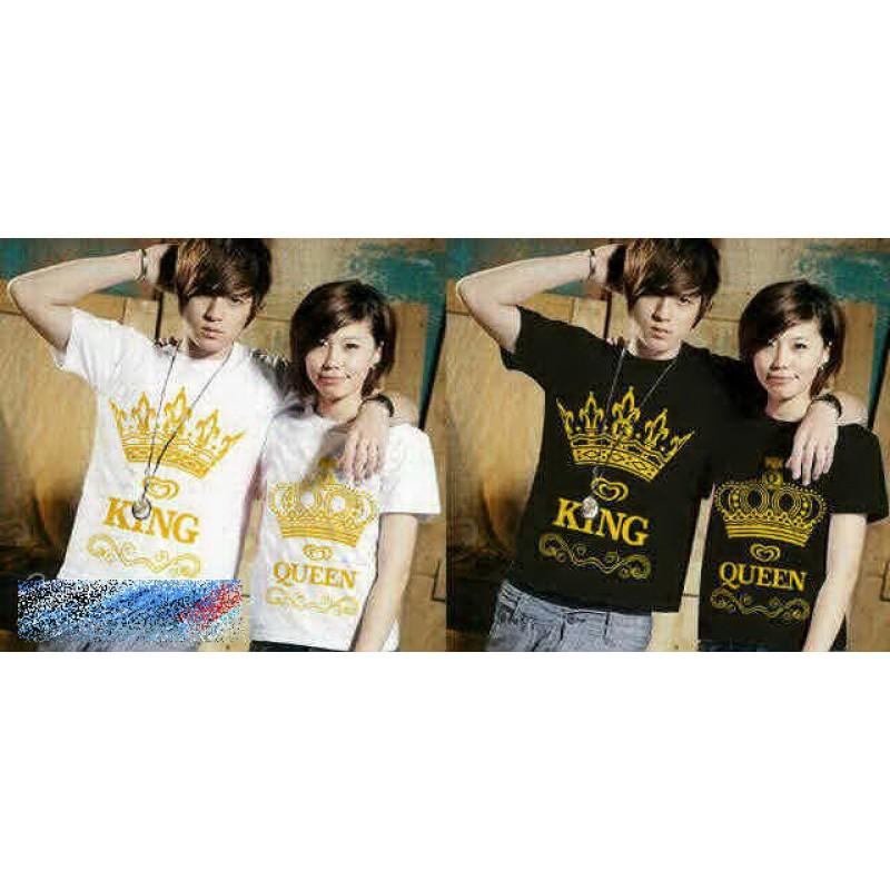 Jual Baju Couple King Queen Crown - 20343