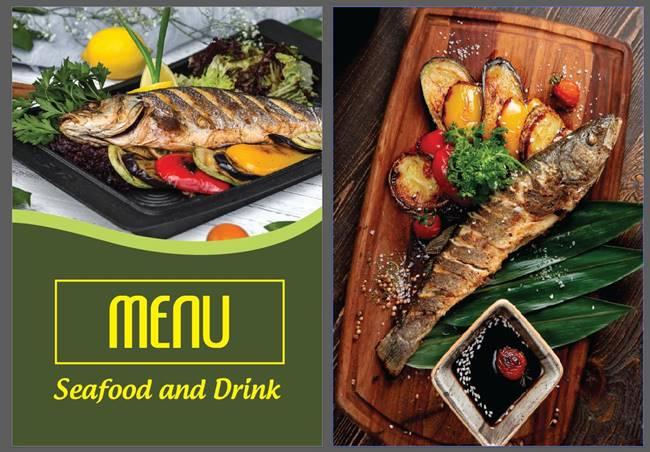 Mẫu thiết kế menu nhà hàng đẹp tại Phú Quốc