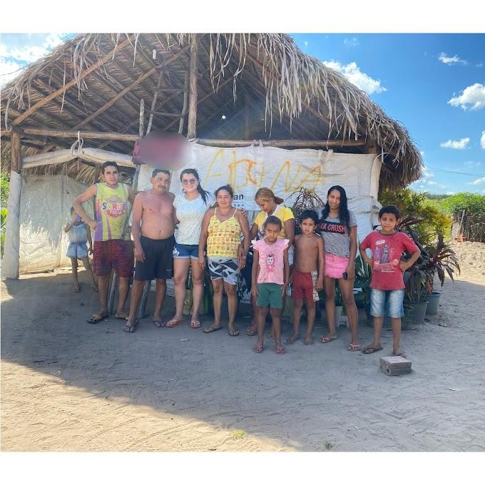 Família do Povoado Poços, município de Anapurus, pede ajuda após ter casa destruída