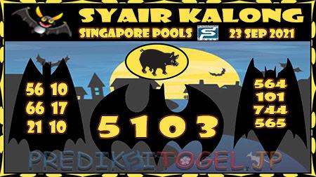 Syair Kalong Togel Singapura Kamis 23-09-2021