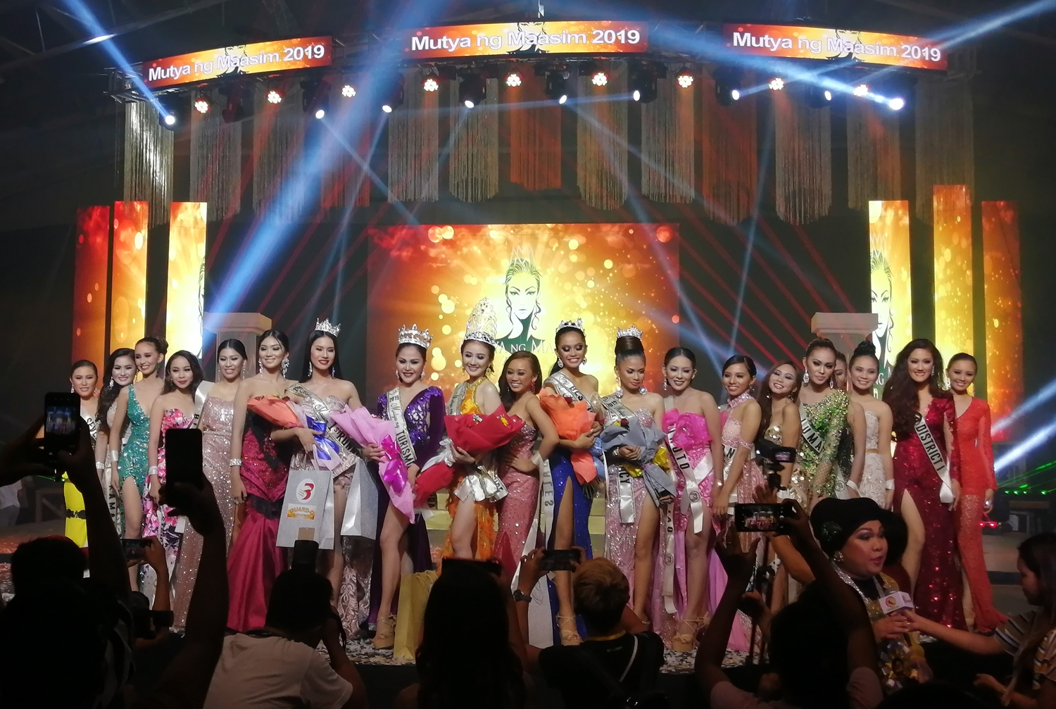 All beautiful. Mutya ng Maasim 2019 candidates