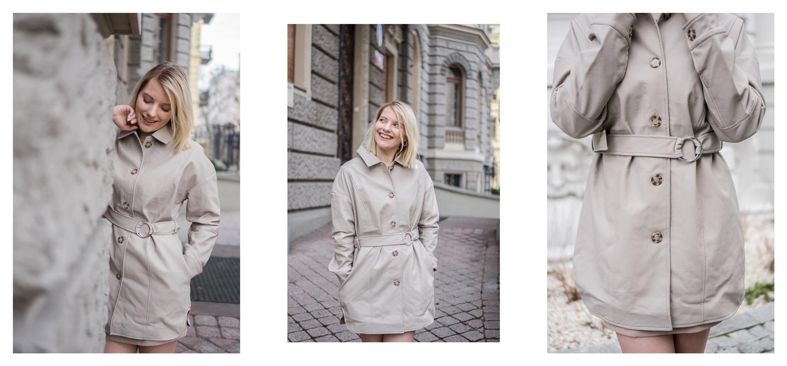 1a na-kd na kd lounge kod zniżkowy outlet rabat zakupy płaszcz na jesień kremowy sukienka modne stylizacje total look blog łódź fashion lifestyle