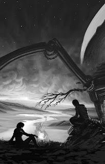 Arila: Stříbrné město (Radek Sterakdary Starý, nakladatelství CooBoo), fantasy, ilustrace František Sedláček