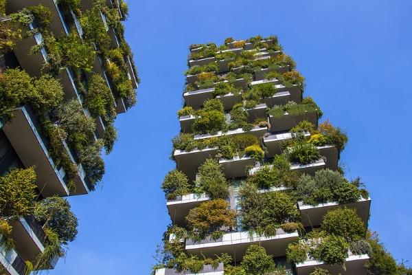 torri verdi-bosco verticale-Milano-sostenibilità-architettura-Boeri