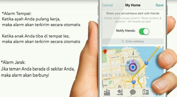 Aplikasi iSharing Untuk Lacak No Hp 3