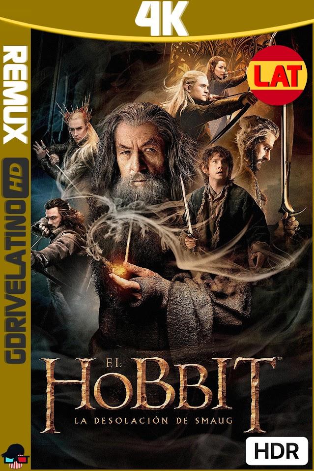 El Hobbit : La Desolación de Smaug (2013) EXTENDED CUT BDRemux 4K HDR Latino-Ingles MKV