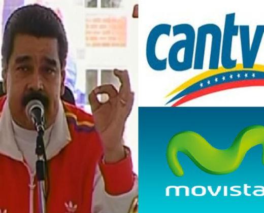 """Maduro exige que le """"vendan"""" las empresas de telecomunicaciones si no pueden operar"""