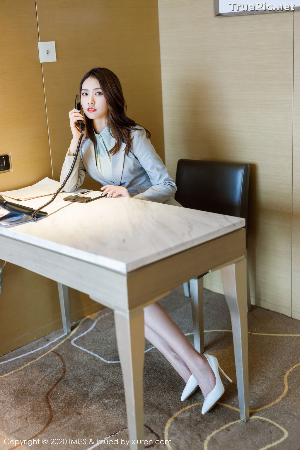 Image IMISS Vol.466 - Chinese Model - Fang Zi Xuan (方子萱) - Sexy Office Girl - TruePic.net - Picture-6