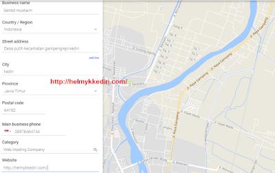 Cara mendaftar google my business
