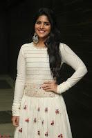 Megha Akash in beautiful White Anarkali Dress at Pre release function of Movie LIE ~ Celebrities Galleries 005.JPG