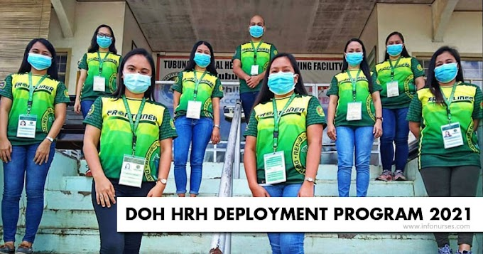 DOH HRH Deployment Program 2021 to hire 23,364 health workers