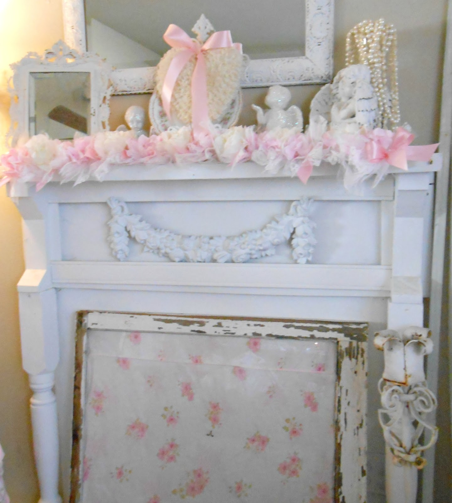 Olivia's Romantic Home: Valentines Mantel