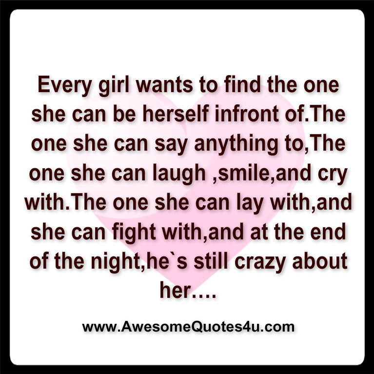 What A Woman Wants From A Man Quotes: What A Girl Wants Quotes. QuotesGram