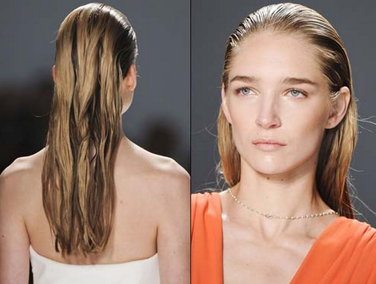 Hairstyles That Look Good When Wet: Wet Look Hairstyle