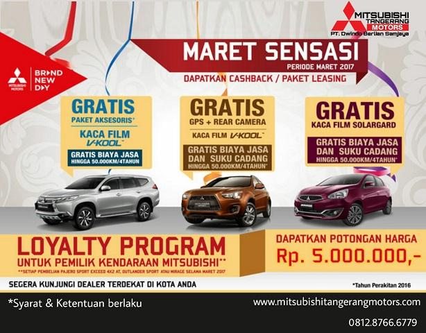 Sensasi Maret Mitsubishi Tangerang