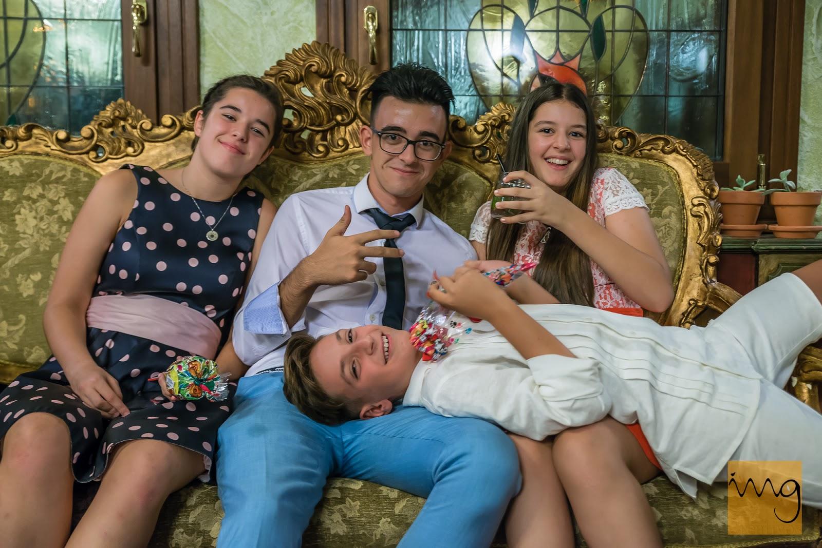 Los invitados más jóvenes de la boda