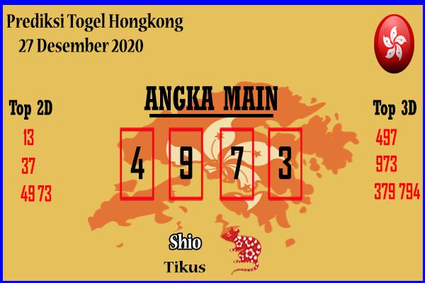 Bocoran Hongkong 27 Desember 2020