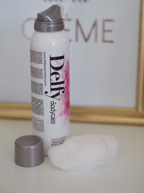 Delfy Crackling Mousse Bodycare
