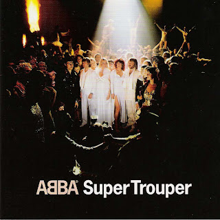 "Abba - Capa do disco ""Super Trouper"", de 1980"