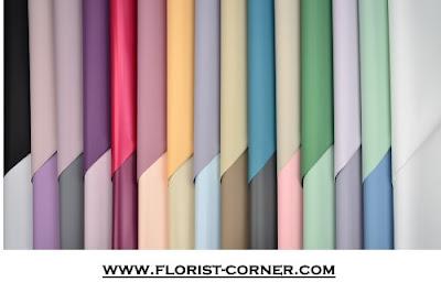 Kertas Buket Bunga / Flower Bouquet Wrapping Paper (Seri OY)