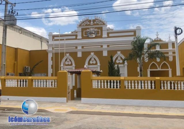 Nota de Pesar da Prefeitura de Caraúbas pelo falecimento da professora Marineide Alves